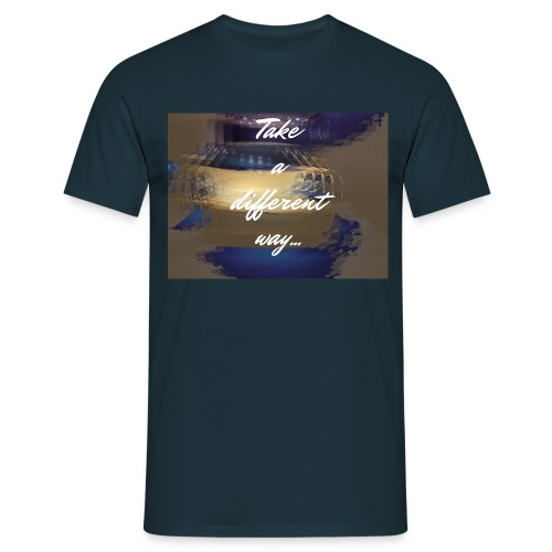 fast life fast car - T-shirt Homme