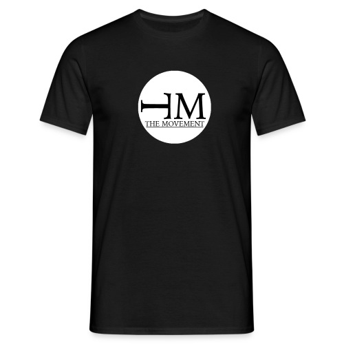 Black T-shirt The Movement - Men's T-Shirt