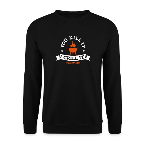 Pullover You kill it - I grill it! - Männer Pullover