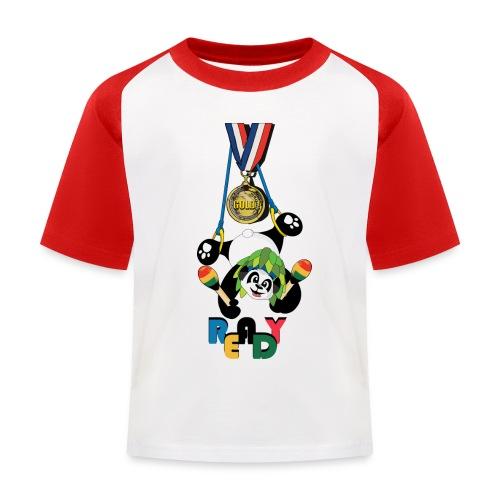 panda Jeux été - T-shirt baseball Enfant