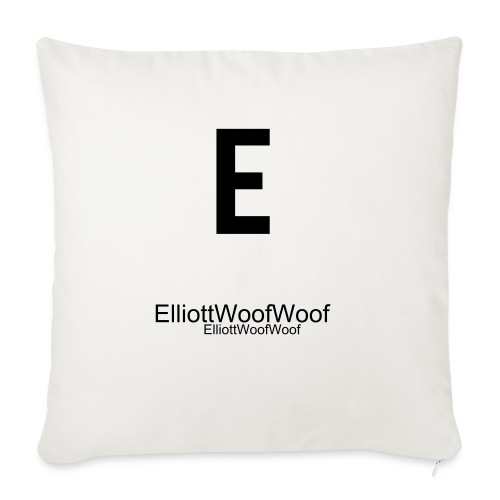 ElliottWoofWoof Pillow White - Sofa pillow cover 44 x 44 cm