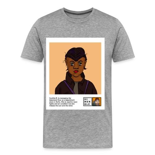 Cynthia_R_Polaroid_Shirt - Männer Premium T-Shirt