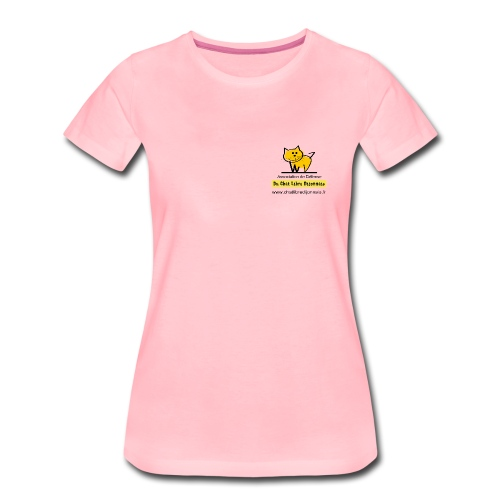 T-Shirt du Chat Libre Dijonnais - T-shirt Premium Femme