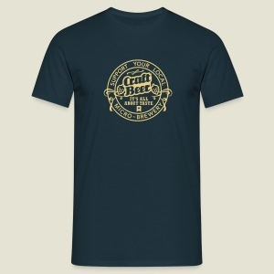 Craft Beer, Original - Männer T-Shirt