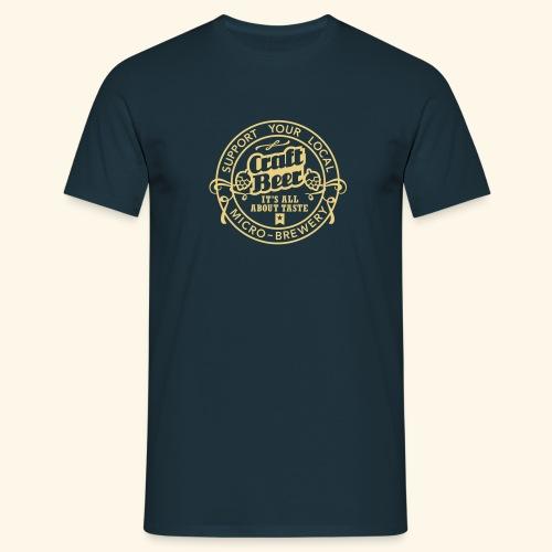 Craft Beer, Original - Männer T-Shirt