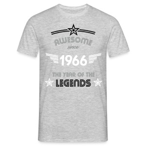 Awesome since 1966 T-Shirts - Männer T-Shirt