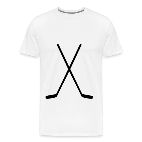 T-SHIRT HOCKEY STICK - Männer Premium T-Shirt