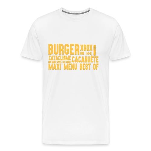 Texte shirt pour hommes - T-shirt Premium Homme