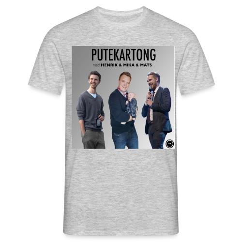 Putekartong T-skjorte med Alle Gutta - T-skjorte for menn