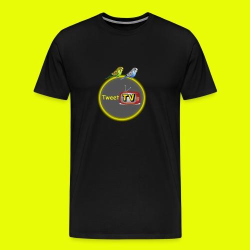TweetTv T-Shirt volwassen - Mannen Premium T-shirt