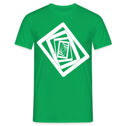 Lost in Resolution Green - Men's T-Shirt