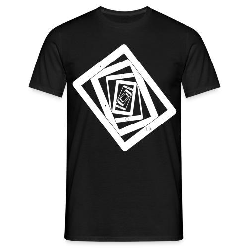 Lost in Resolution Black - Men's T-Shirt
