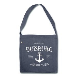 Iron Anchor Bag - Schultertasche aus Recycling-Material