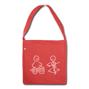 Duo tabla / Indian violin - Shoulder Bag made from recycled material