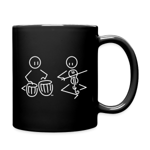 Duo tabla / Indian violin [double-sided] - Full Colour Mug