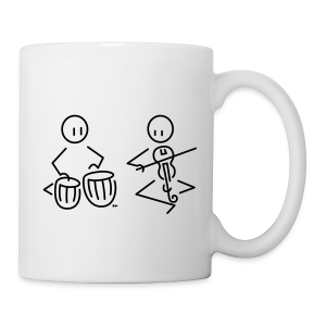 Duo tabla / Indian violin [single-sided] - Mug