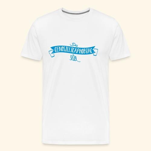 spassprediger.de presents: Cenosillicaphobiac - Männer Premium T-Shirt