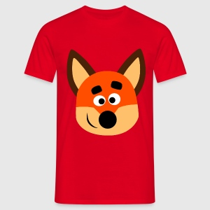 Cute Little Fox by Cheerful Madness!! - Men's T-Shirt