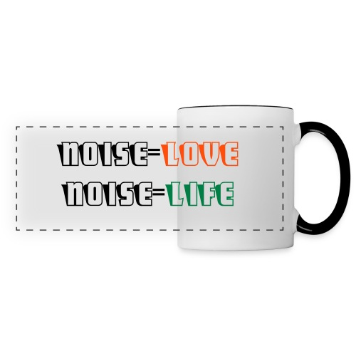 taza noise - Panoramic Mug