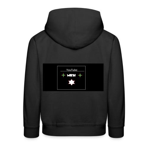 YoutubeWorld Pullover - Kinder Premium Hoodie