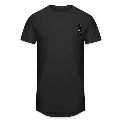 Długa koszulka męska urban style V&V - Długa koszulka męska urban style