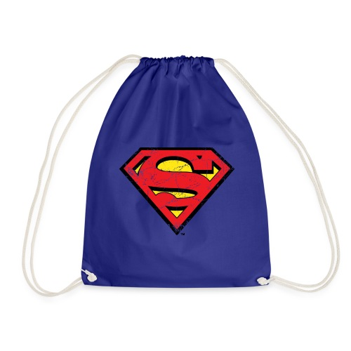 Superman S-Shield Logo vintage - Turnbeutel