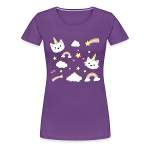 Unicorn Cats - Women's - Women's Premium T-Shirt