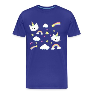 Unicorn Cats - Mens - Men's Premium T-Shirt