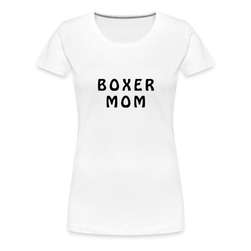 Boxer Mom - Koszulka damska Premium