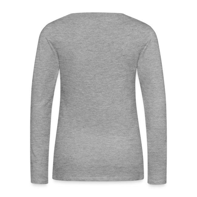 Premium Long Sleeve T-shirt Grow an Afro. I Dare You!