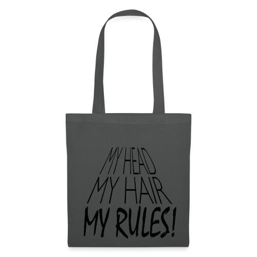 Tote Bag My Head. My Hair. My Rules! - Tote Bag