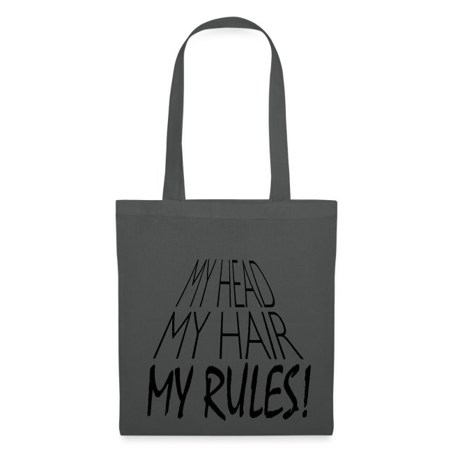 Tote Bag My Head. My Hair. My Rules!