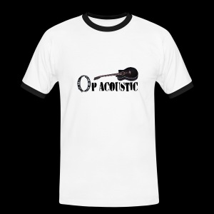 Ltd. Ed. Op Acoustic Band Logo#1 Tee - Men's Ringer Shirt