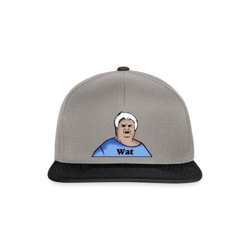 Wat Snapback Cap (Original Logo) - Snapback Cap