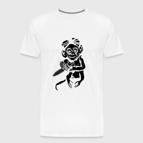 Steampunk Monkey Men's Premium T-Shirt - Men's Premium T-Shirt
