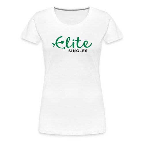 EliteSingles White Girlie - Frauen Premium T-Shirt