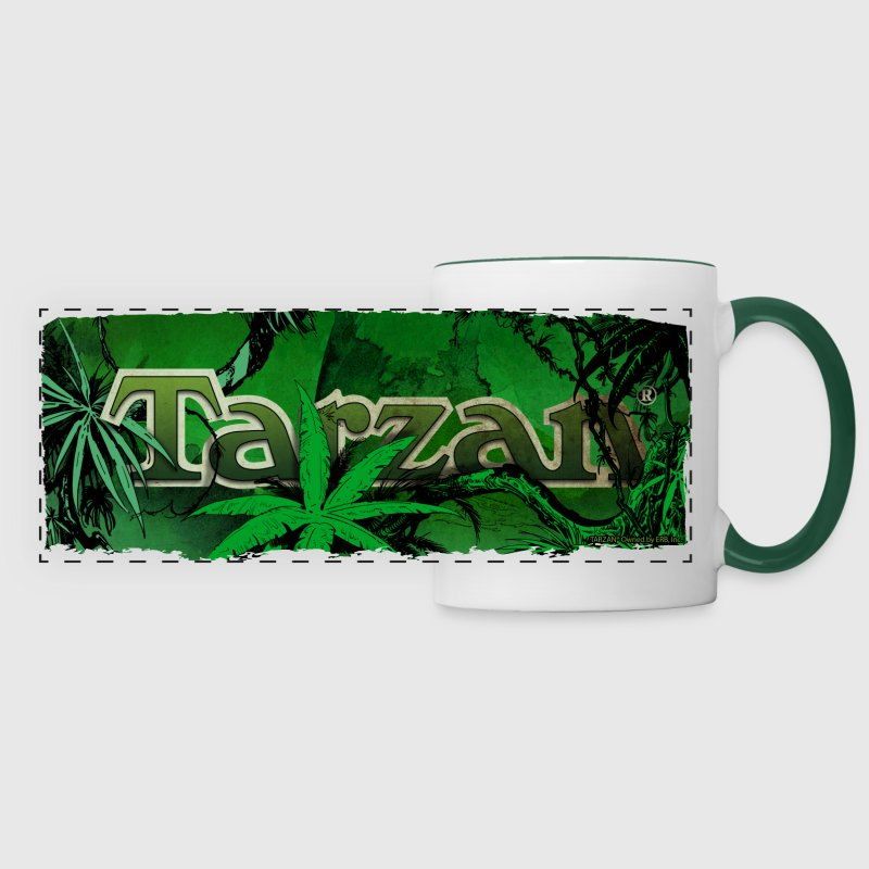 Tarzan Logo La jungle - Tasse panorama