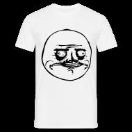 Tee shirts ~ Tee shirt Homme ~ T Shirt T Shirt Me Gusta, rage comics