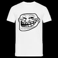 Tee shirts ~ Tee shirt Homme ~ T shirt Trollface, rage comics