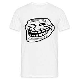 T shirt Trollface, rage comics - T-shirt Homme