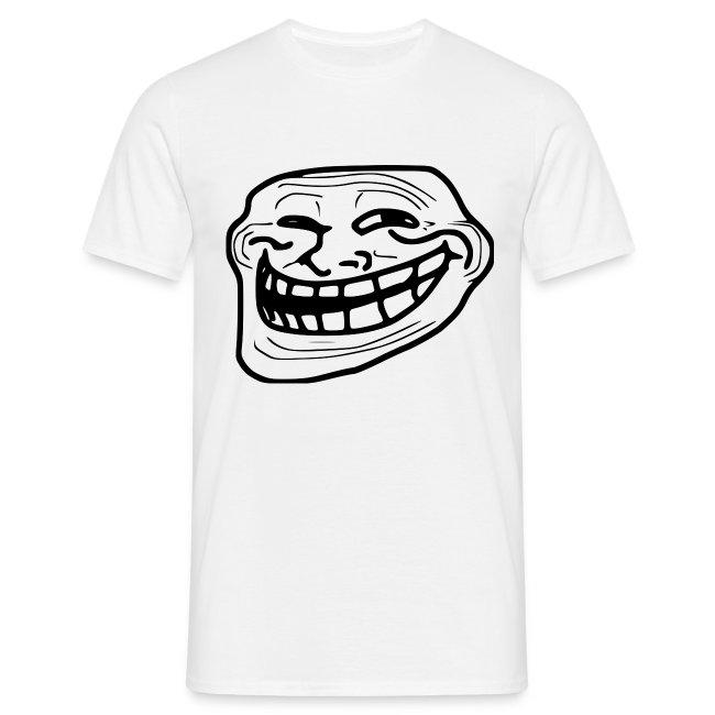 T shirt Trollface, rage comics