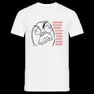 Tee shirts ~ Tee shirt Homme ~ T Shirt Rage guy/Fuuu, rage comics