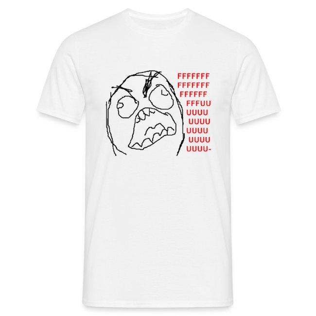 T Shirt Rage guy/Fuuu, rage comics