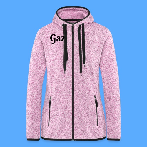Gaz Women's Fleece Hoodie - Women's Hooded Fleece Jacket