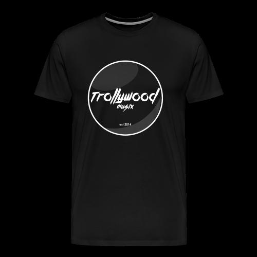 TrollywoodMusiX | Logo Transparent | Shirt - Männer Premium T-Shirt