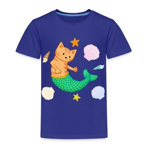 Mermaid Cat - Kids - Kids' Premium T-Shirt