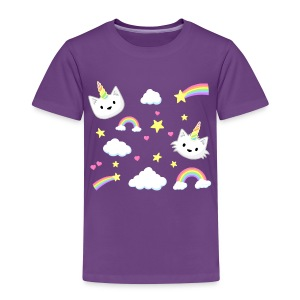 Unicorn Cats - kids - Kids' Premium T-Shirt