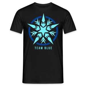 Team Blue Basic T-Shirt Man - Männer T-Shirt