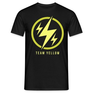 Team Yellow Basic T-Shirt Man - Männer T-Shirt