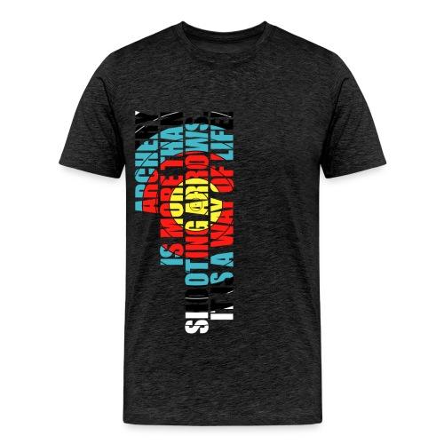 Archery - A way of life (FITA) - Männer Premium T-Shirt